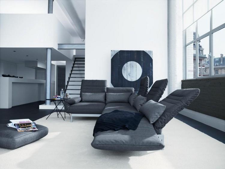 Grey Decor Ideas Amazing Grey Decor Ideas Thanks to Fifty Shades of Grey canape rolfbenz plura