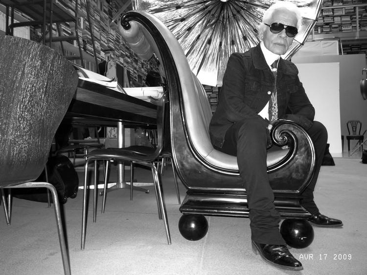 Fashion Week 2015: Inside Karl Lagerfeld's house Fashion Week 2015 Fashion Week 2015:  Inside Karl Lagerfeld's house karl home1