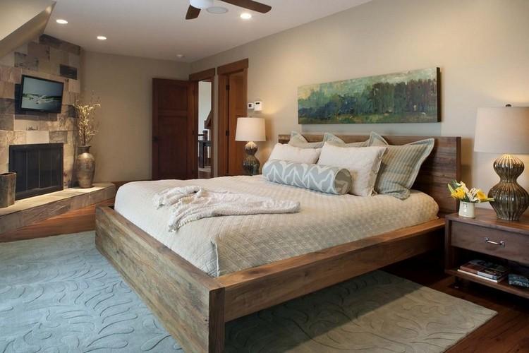 Деревянная спальня своими руками фото