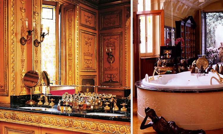 CELEBRITY MASTER BATHROOMS