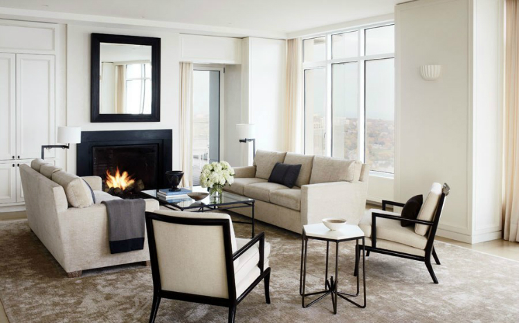 LIVING ROOM IDEAS BY TOP DESIGNERS Living Room Ideas Living Room Ideas by Top Designers Victoria Hagan22