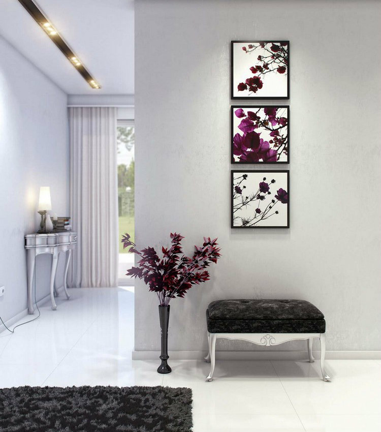 Spring is coming! Decorate your home with flowers. Spring is coming! Decorate your home with flowers Spring is coming! Decorate your home with flowers hallway