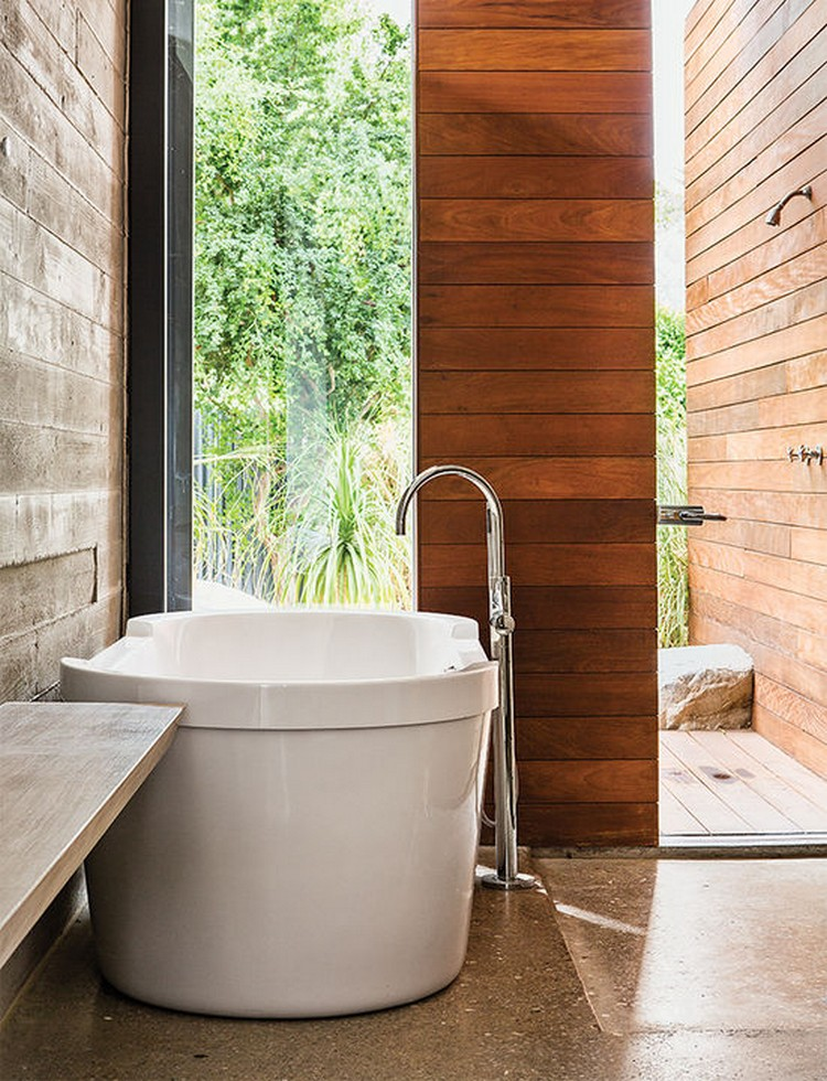 5 Incredible bathrooms designed with wood 5 Incredible bathrooms designed with wood 5 Incredible bathrooms designed with wood indian summer master bath dornbracht tub