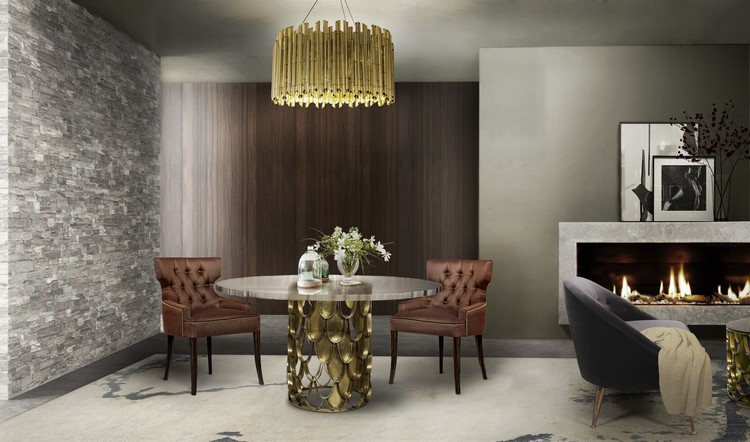 Stylish dining room ideas Dining room Dining room inspirations koi