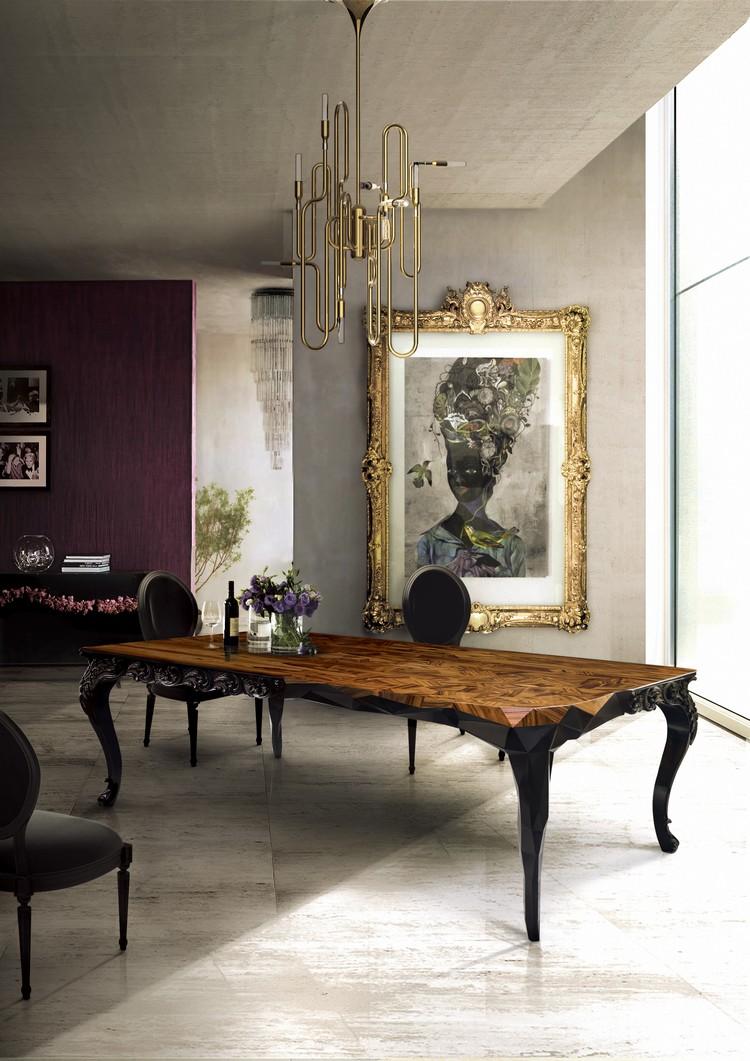 Stylish dining room ideas Dining room Dining room inspirations royal
