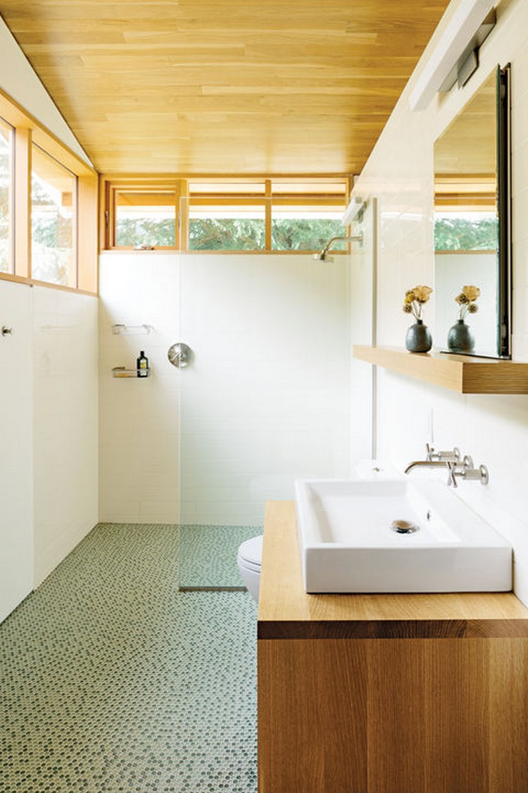5 Incredible bathrooms designed with wood 5 Incredible bathrooms designed with wood 5 Incredible bathrooms designed with wood woodwork portland renovation bathroom 0