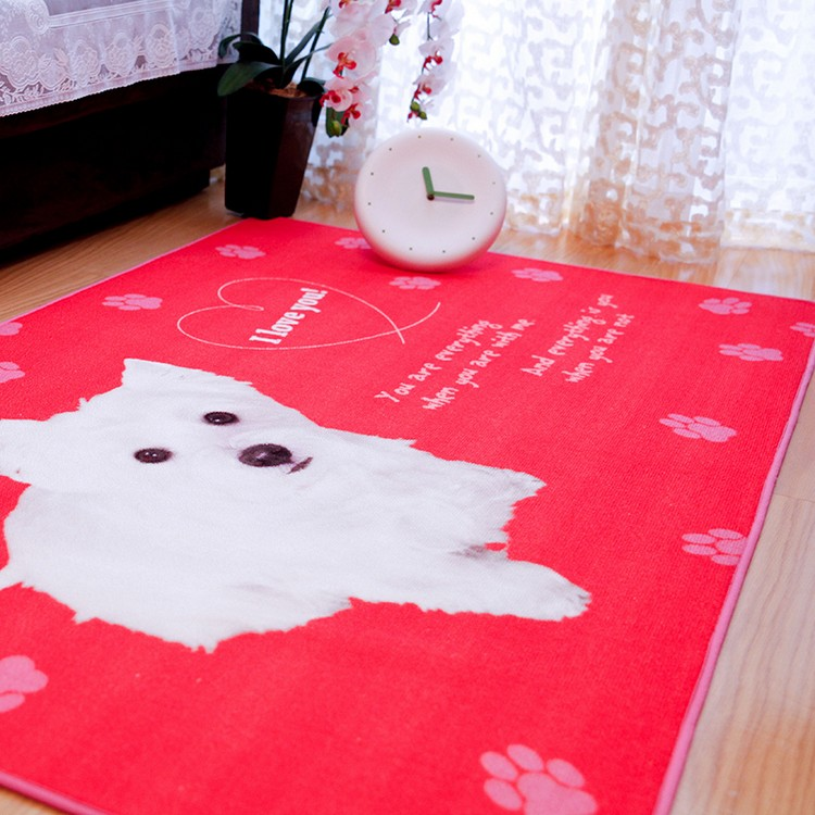 Bedroom Decor Ideas Bedroom Decor Ideas: 50 Inspirational Rugs Cute Pink Dog floor rug area rug for kids room lovely dog print carpet super soft