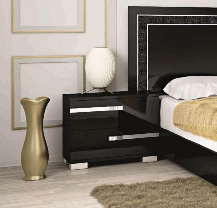 Bedroom Decor Ideas Bedroom Decor Ideas: 50 Inspirational Bedside Tables black1