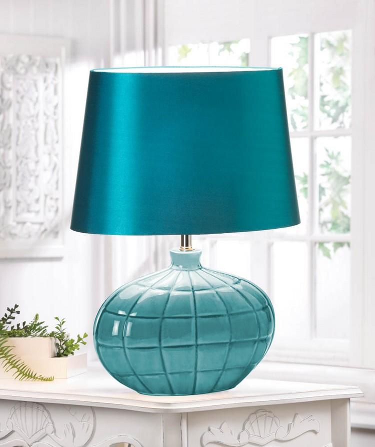 bedroom decor ideas Bedroom Decor Ideas: 50 Inspirational Table Lamps blue3