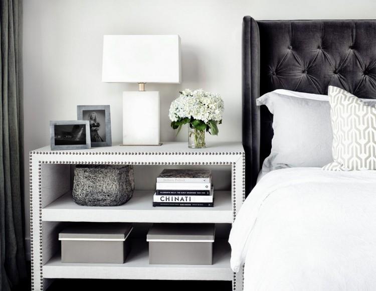 Bedroom Decor Ideas: 50 Inspirational Bedside Tables Bedroom Decor Ideas Bedroom Decor Ideas: 50 Inspirational Bedside Tables brass 2