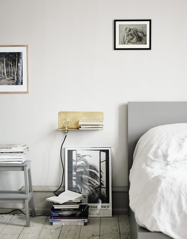 Bedroom Decor Ideas Bedroom Decor Ideas: 50 Inspirational Bedside Tables brass1
