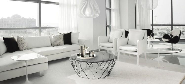 Living room decor ideas 50 center tables in maison et - Living room center table decoration ideas ...
