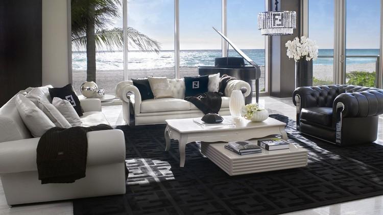 Living room decor ideas 50 center tables in maison et for Objet design decoration maison