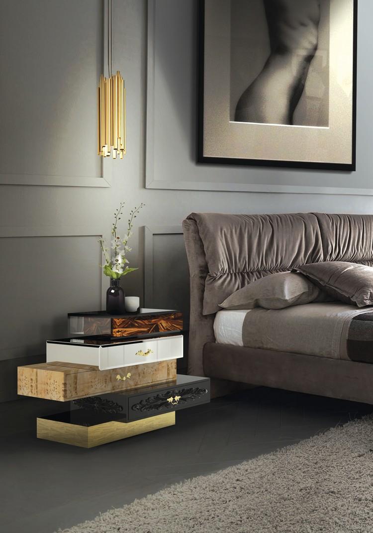 Bedroom Decor Ideas Bedroom Decor Ideas: 50 Inspirational Bedside Tables frank