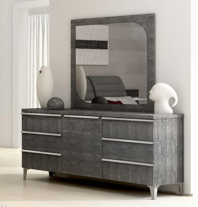 Bedroom Decor Ideas Bedroom Decor Ideas: 50 Inspirational Chests of Drawers grey51