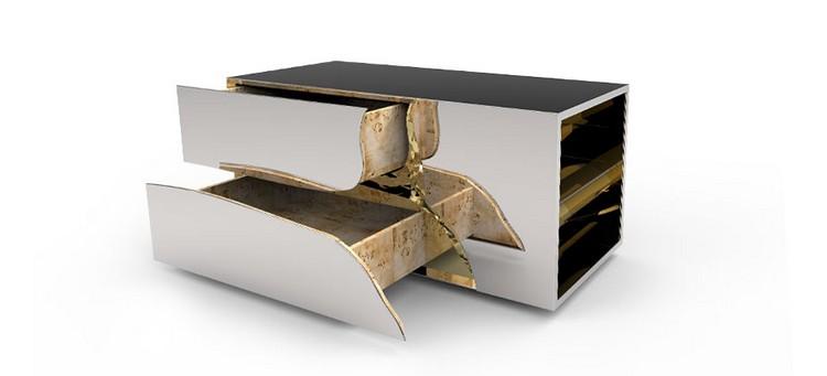 Bedroom Decor Ideas Bedroom Decor Ideas: 50 Inspirational Bedside Tables lapiaz nightstand boca do lobo slide 03