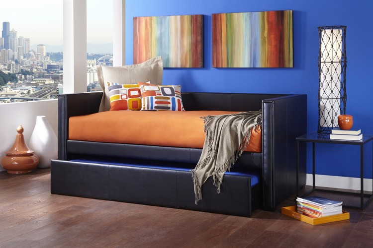 Bedroom Decor Ideas Bedroom Decor Ideas: 50 Inspirational Day Beds leather31