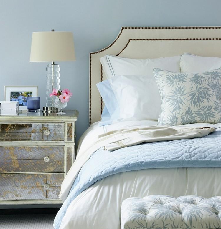 Bedroom Decor Ideas Bedroom Decor Ideas: 50 Inspirational Bedside Tables mirror1