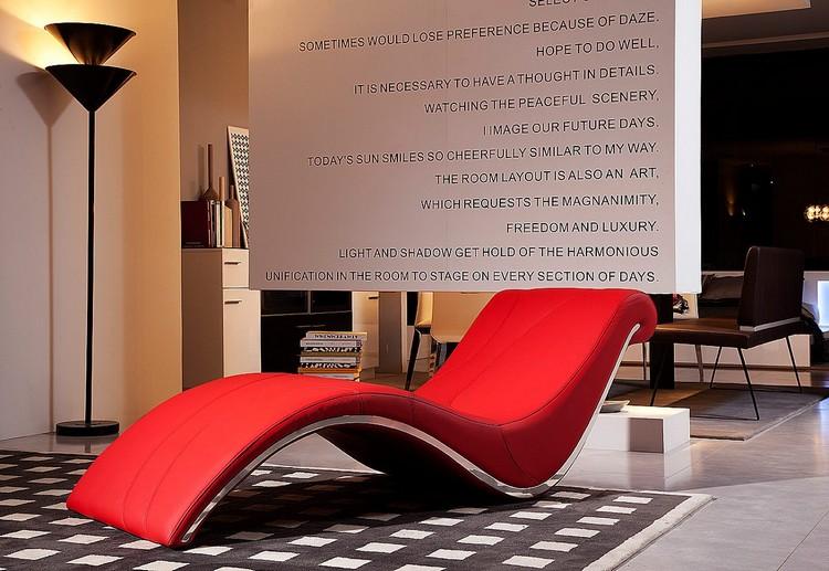Bedroom Decor Ideas Bedroom Decor Ideas: 50 Inspirational Chaise Longue red5