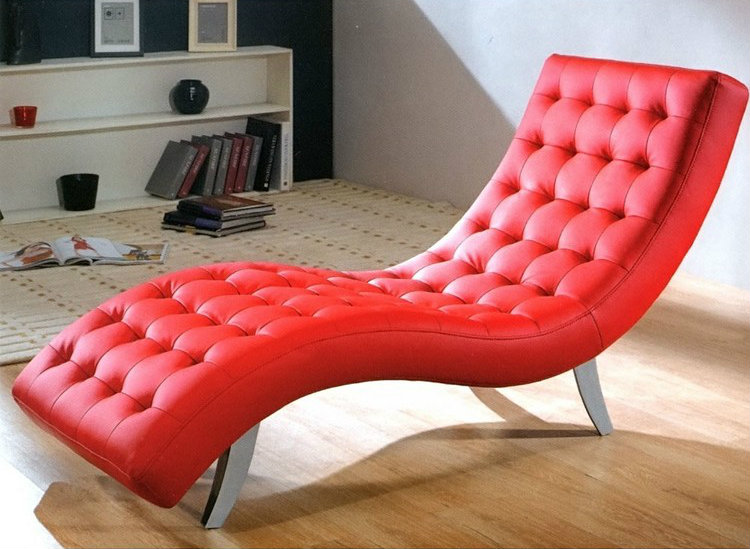 Bedroom Decor Ideas: 50 Inspirational Chaise Longs Bedroom Decor Ideas Bedroom Decor Ideas: 50 Inspirational Chaise Longue red6