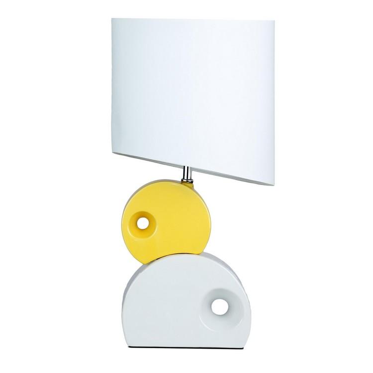 bedroom decor ideas Bedroom Decor Ideas: 50 Inspirational Table Lamps white