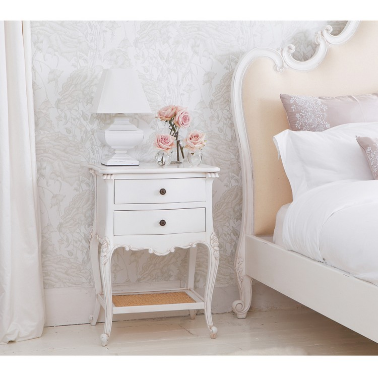 Bedroom Decor Ideas Bedroom Decor Ideas: 50 Inspirational Bedside Tables white1