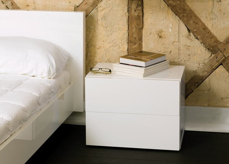 Bedroom Decor Ideas Bedroom Decor Ideas: 50 Inspirational Bedside Tables white3