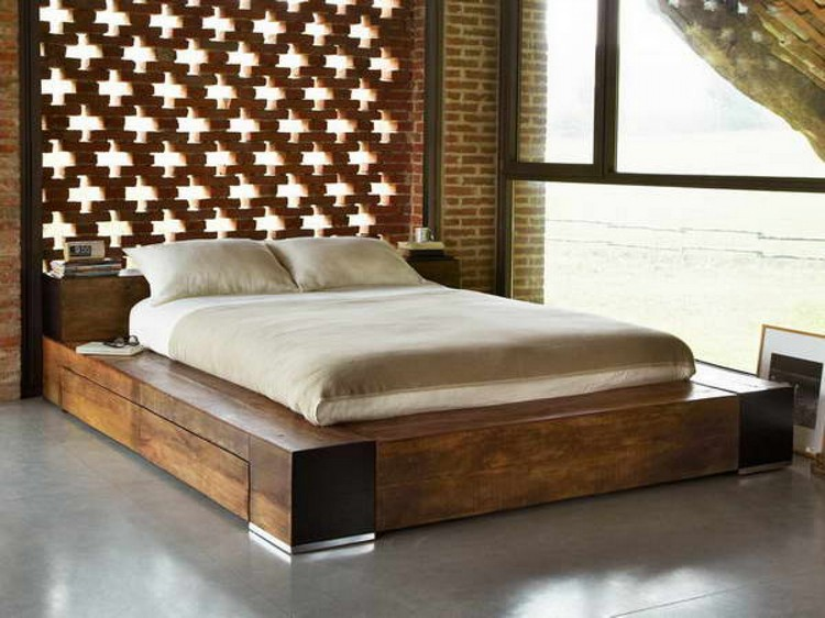 Bedroom Decor Ideas Bedroom Decor Ideas: 50 Inspirational Beds wood11