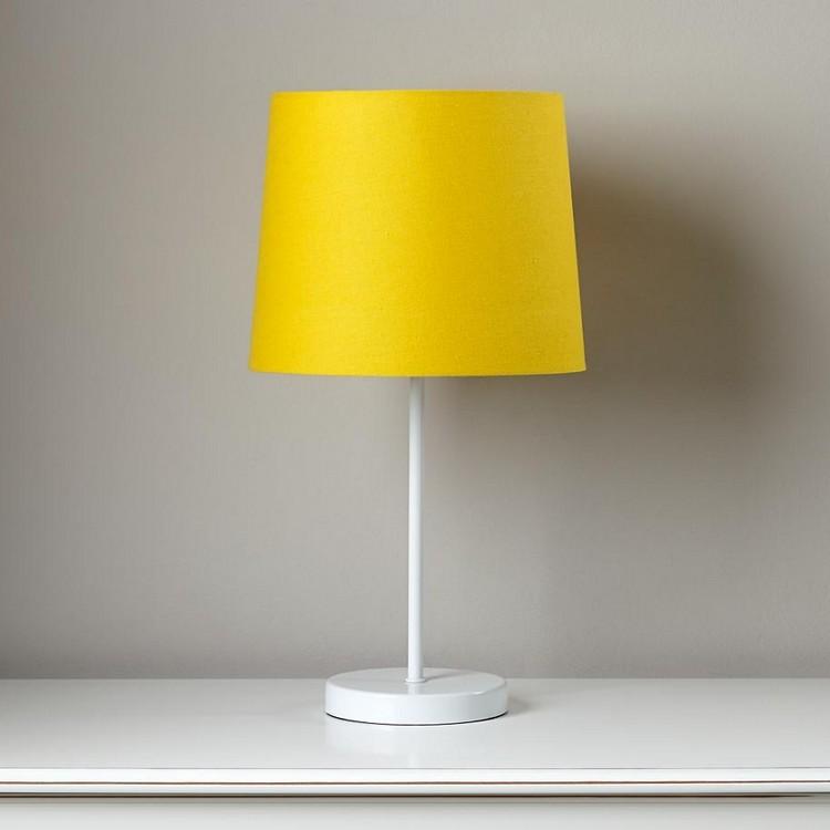 bedroom decor ideas Bedroom Decor Ideas: 50 Inspirational Table Lamps yellow 3