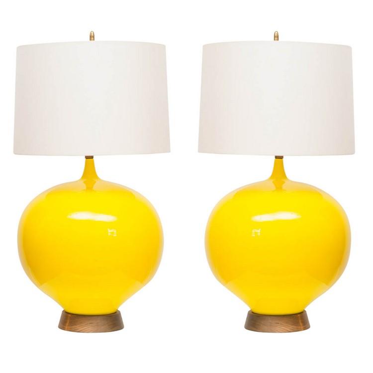 bedroom decor ideas Bedroom Decor Ideas: 50 Inspirational Table Lamps yellow2