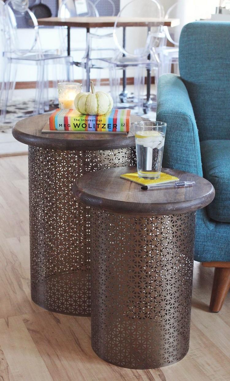 Living Room Decor Ideas: 50 coffee tables ideas in brass