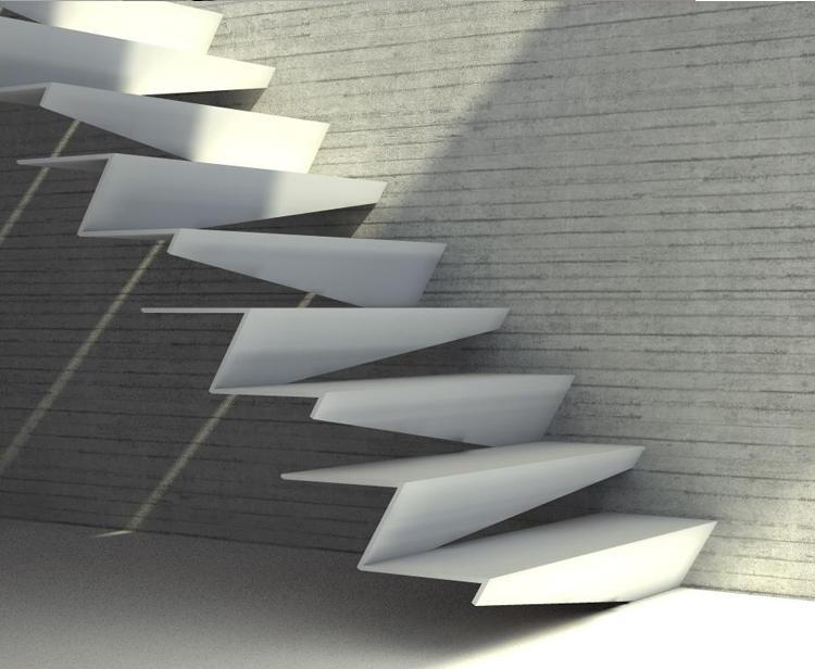 10 Modern Design Staircases Modern 10 Modern Staircases Design 47