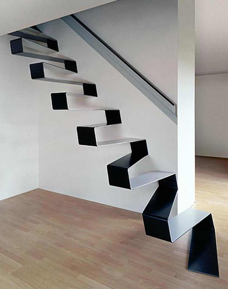 Modern 10 Modern Staircases Design 66
