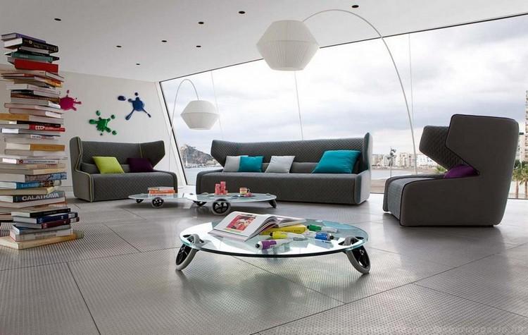Living Room Decor Ideas: 50 two seat sofas Living Room Decor Ideas Living Room Decor Ideas: 50 two seat sofas Roche Bobois