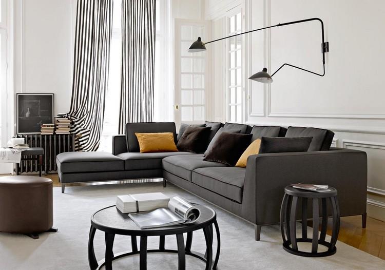 Living Room Decor Ideas: 50 inspirational wall lamps Living Room Decor Living Room Decor Ideas: 50 inspirational wall lamps black4