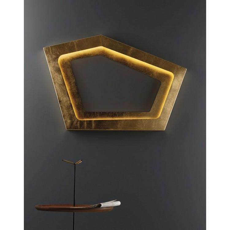 Living Room Decor Ideas: 50 inspirational wall lamps Living Room Decor Living Room Decor Ideas: 50 inspirational wall lamps golden3