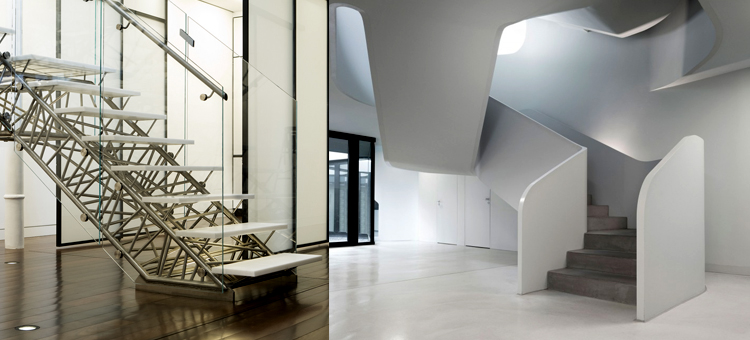 10 Modern Design Staircases Modern 10 Modern Staircases Design top