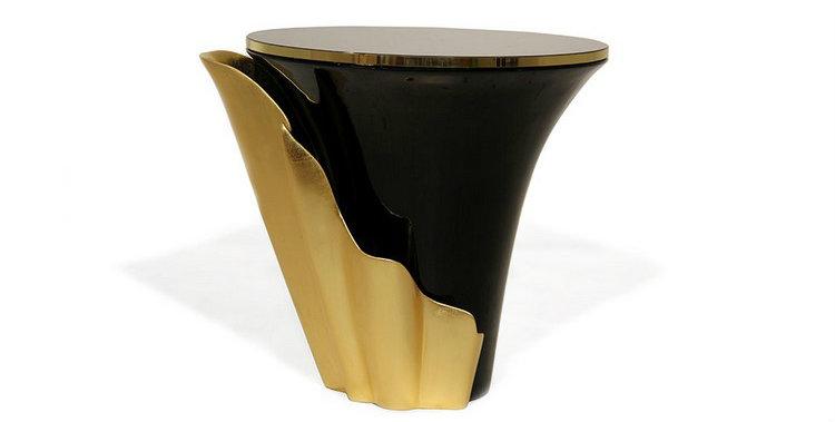 Living Room Decor Ideas: 50 coffee tables ideas in brass Living Room Decor Ideas Living Room Decor Ideas: 50 coffee tables ideas in brass yasmine side table 1  kk