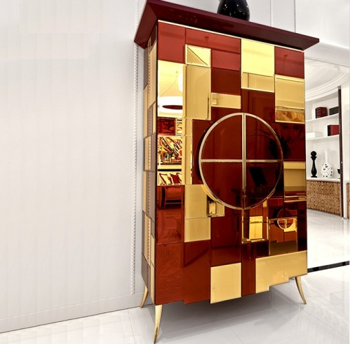 This is a perfect example of a modern cabinet design. It will fit perfectly in a contemporary home!  modern cabinet Top 30 Modern Cabinets Top 50 Modern Cabinets 8 e1448015377355  Top 20 Modern Cabinets for your living room Top 50 Modern Cabinets 8 e1448015377355
