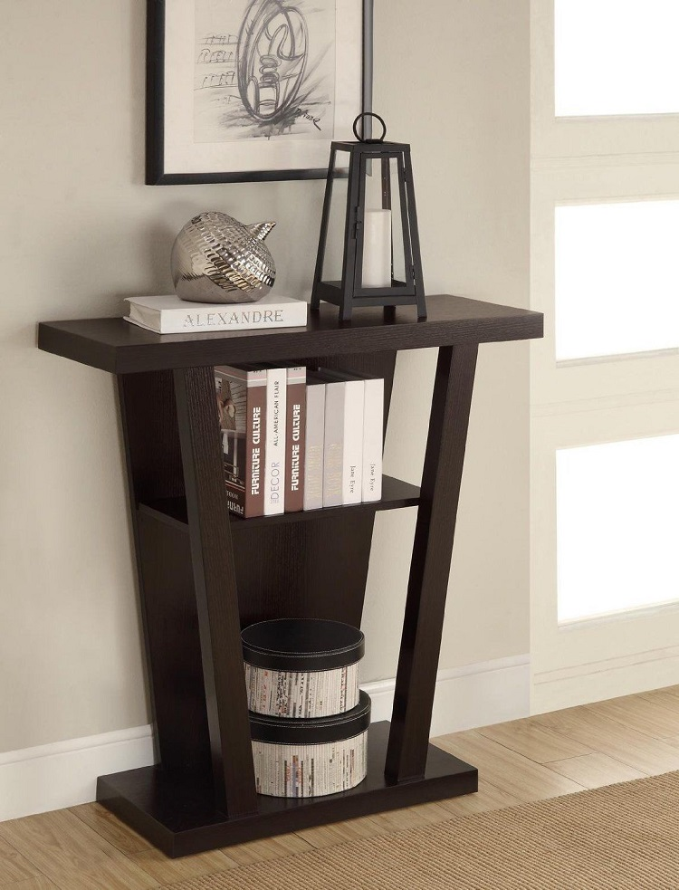 Top 50 modern console tables page 30 home decor ideas for Modern decorative table accents