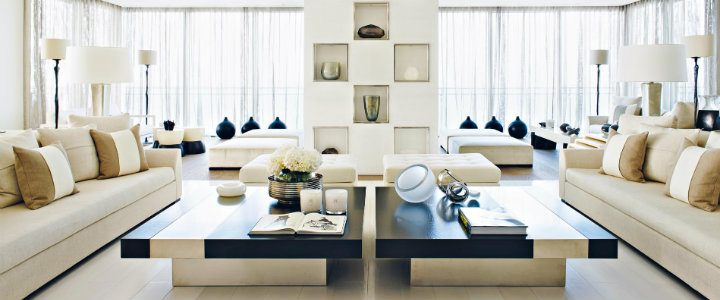 Living Room Designed by Kelly Hoppen