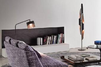 Modern design floor lamp for luxury home