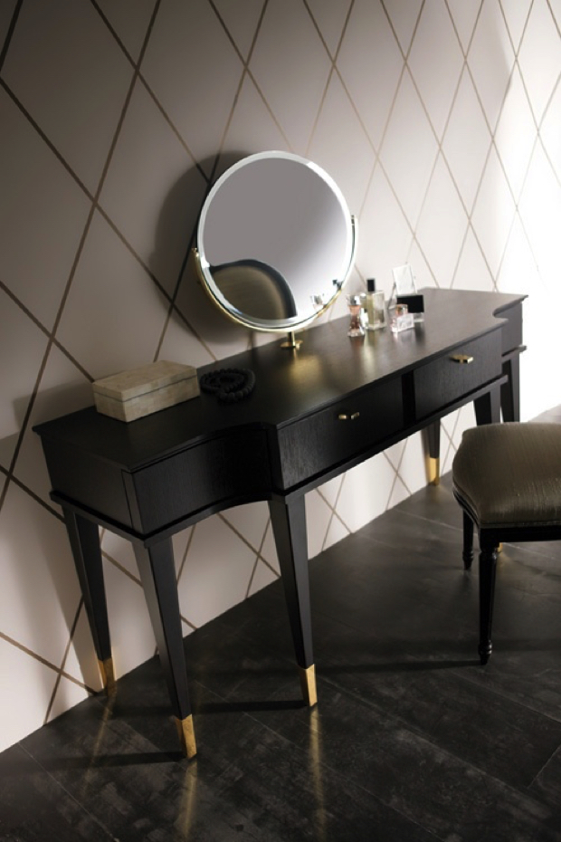 Black Dressing Table dressing tables 21 DRESSING TABLES FOR THE CONTEMPORARY BEDROOM 1