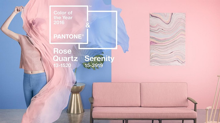 Color of the year Rose Quartz and Serenity pantone PANTONE COLOR OF THE YEAR 2016 – ROSE QUARTZ AND SERENITY 1108902 1280x720