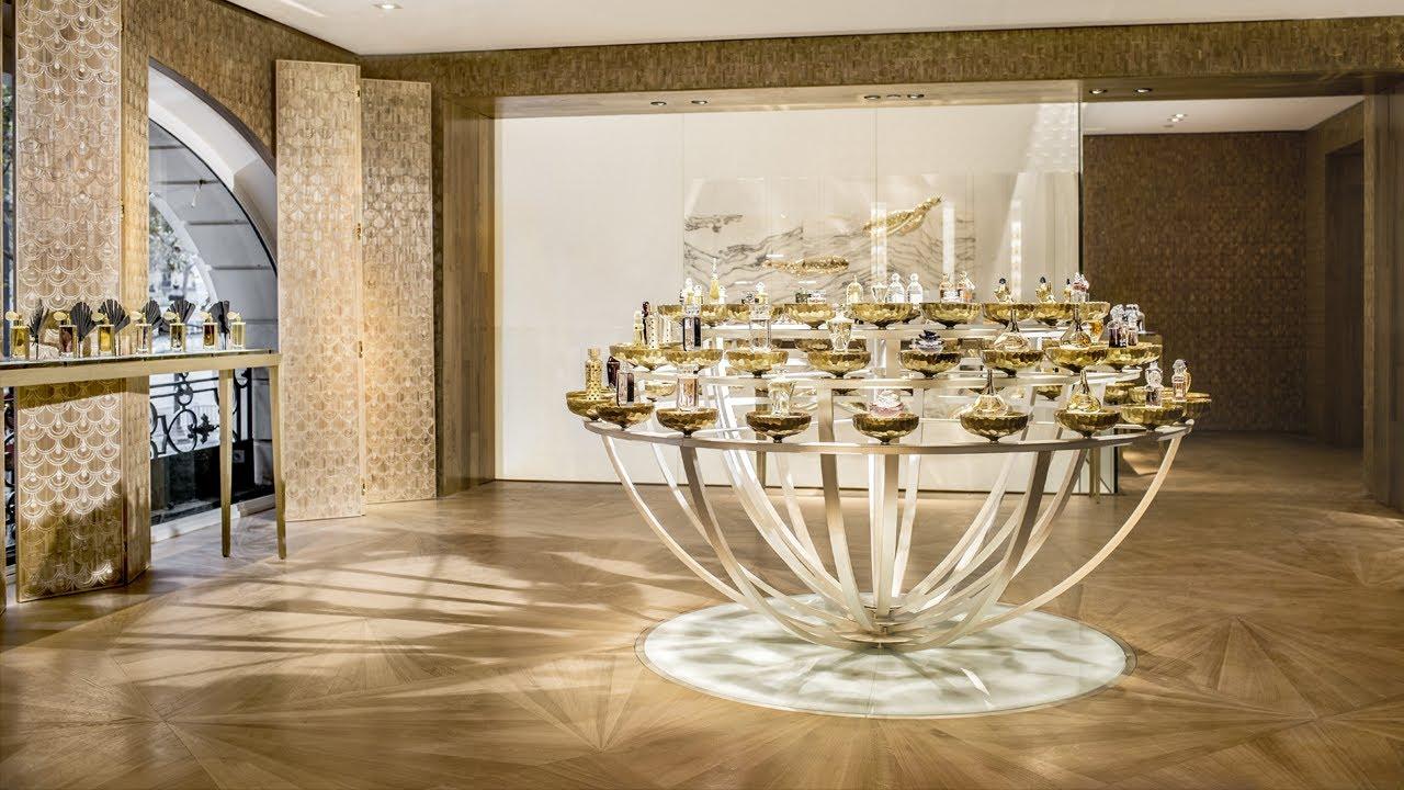 Boutique-Spa Guerlain project in Paris