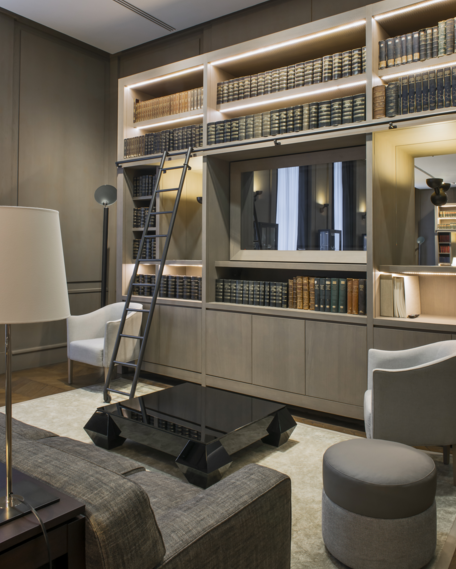 A luxury design at Corporate project by Andree Putman