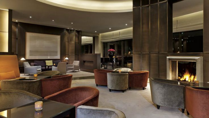 Living room design at the Putman Hotel, in Hong Kong