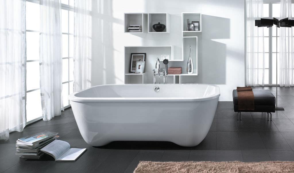 Contemporary bathroom design by Andree Putman
