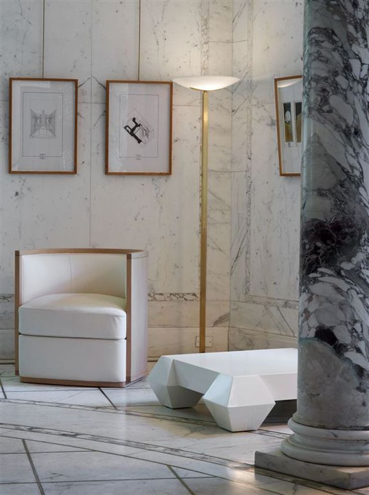 Marble design at Spa design project in NYC