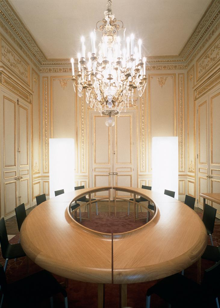 Corporate interior design project in Paris